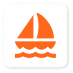 icon sailing vessel