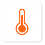 icon temperature